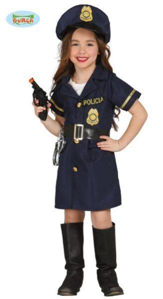 policía niña