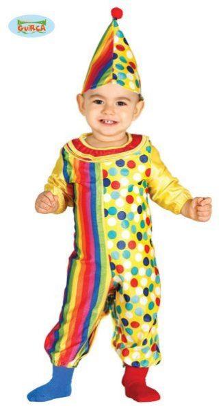 disfraz payaso bebe