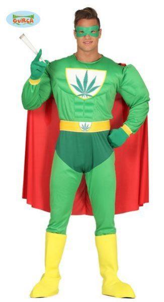 superhéroe marihuana