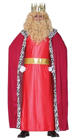 rey mago rojo adulto