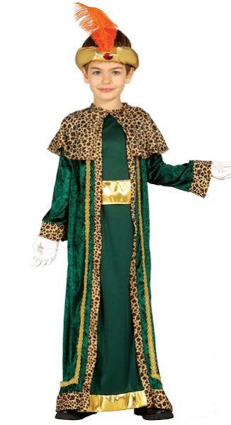 rey mago verde infantil