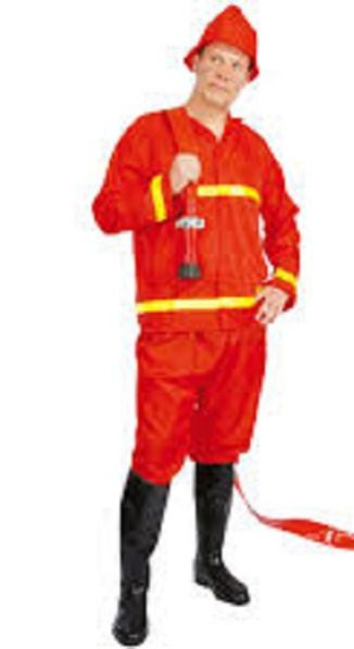 bombero adulto