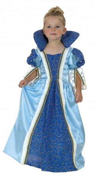 princesa azul infantil