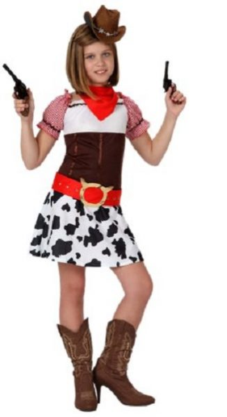 vaquera infantil niña