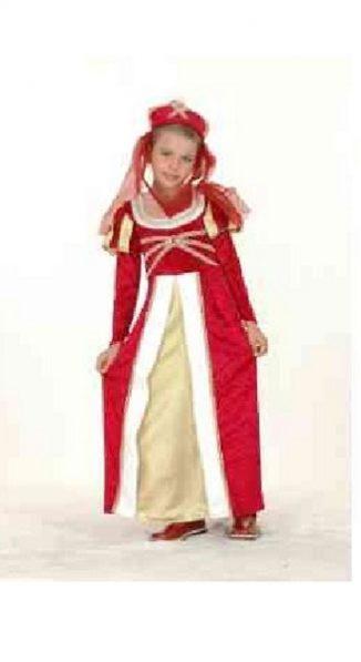 dama medieval infantil