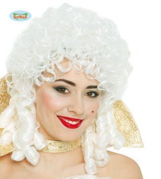 peluca maria antonieta blanca
