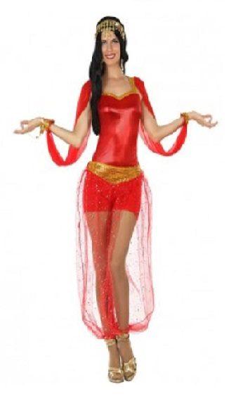 Bailarina Arabe Roja Adulta
